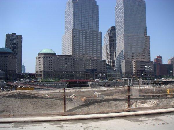 Ground Zeroとアフタヌーンティーとタイムズスクエアの夜景