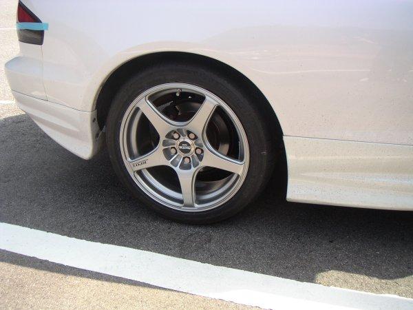 タイヤ交換(ミシュランPS2)&ホイール1本