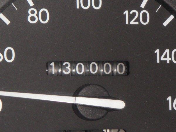 130,000km突破