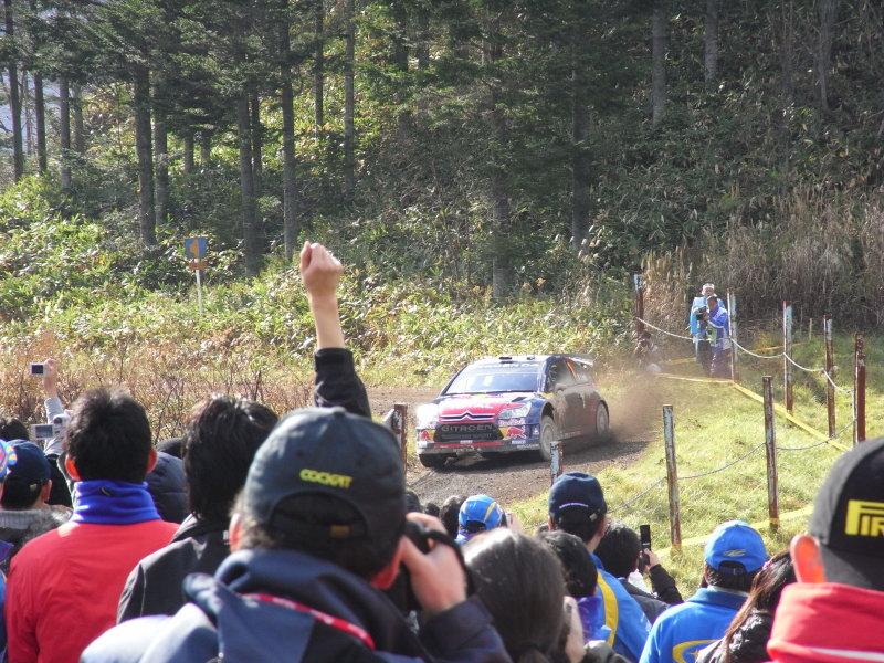 Rally Japan Day1 SS2″ユーパロ1″