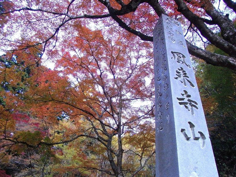 鳳来寺山は険しいぞっと