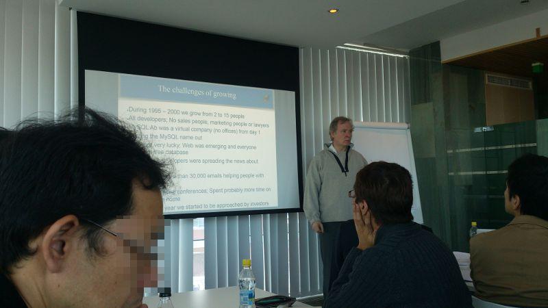 2日目:SkySQL社, Monty Program社 訪問