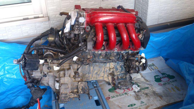 エンジンのお掃除