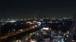 観覧車から眺める夜景