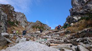 八丁坂の登り