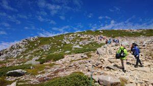 駒ヶ岳の登り