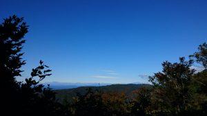 御岳っぽい山影