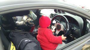 将来有望な女性ドライバー!?