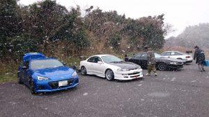 美浜で吹雪!?