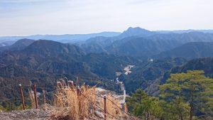 岩古谷山からの眺め