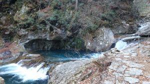 山梨遠征①:西沢渓谷を散策