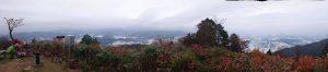 高賀山 山頂からのパノラマ