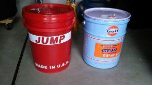 JUMP OILの出番は無し