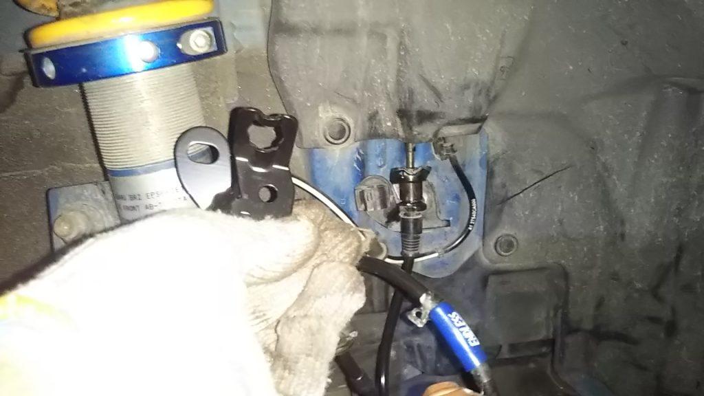 3号機ブレーキのメンテ