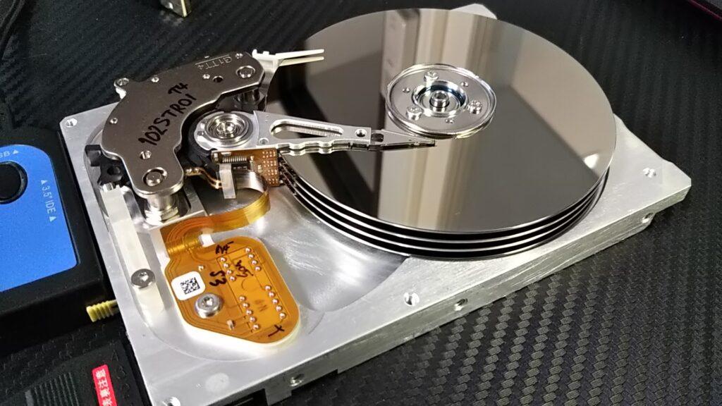 HDD, SSDを断捨離